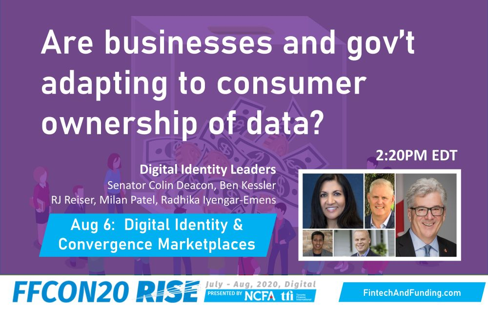 FFCON20 Are businesses and gov't adapting to consumer ownership of data