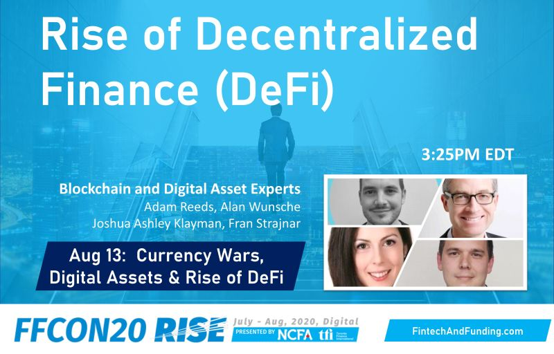 FFCON20 Aug 13 The Rise of DeFi Panel