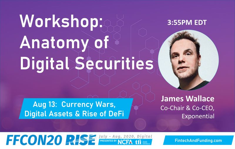 FFCON20 Aug 13 Workshop - Anatomy of Digital Securities