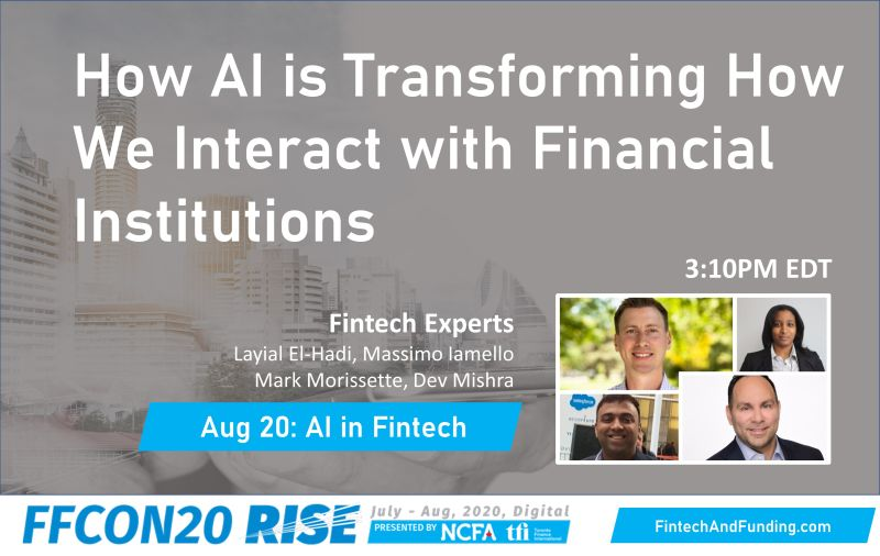 FFCON20 How AI is transforming how we interact with financial institutions