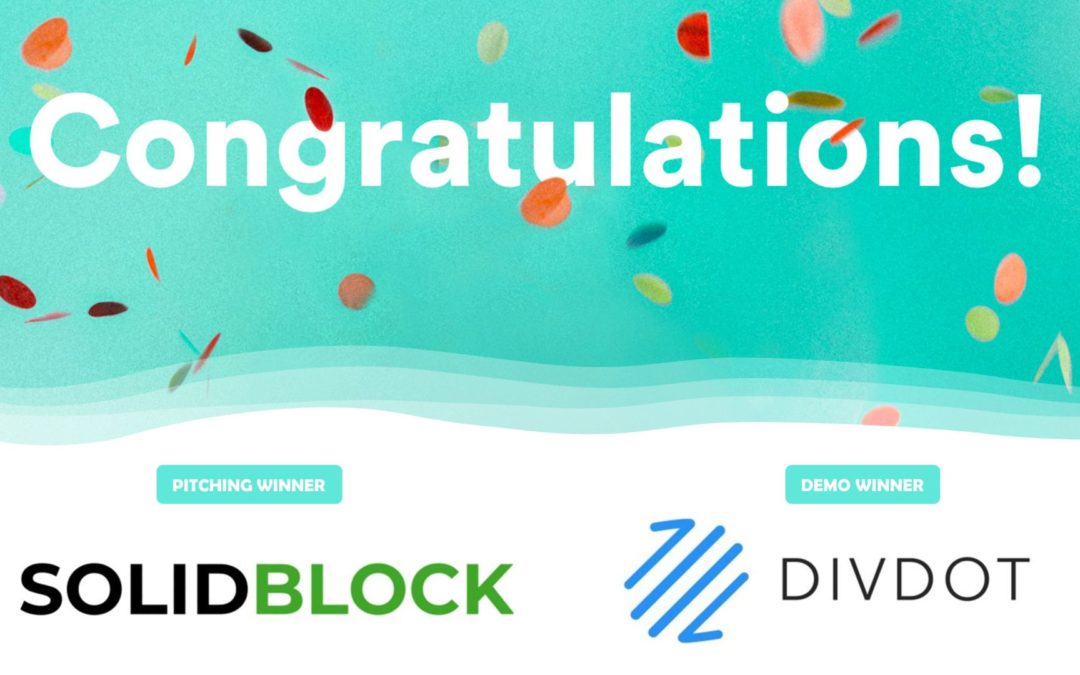 FFCON20 Week 8 Fintech Draft: Congratulations to the Winning Companies SolidBlock and DivDot!