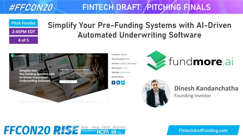 FFCON20 Pitch by FundMore.ai